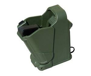 Maglula UpLULA 9MM - 45ACP Pistol Magazine Speed Loader/Unloader in Dark Green