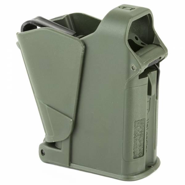 Maglula UpLULA 9MM - 45ACP Pistol Magazine Speed Loader/Unloader in Dark Green