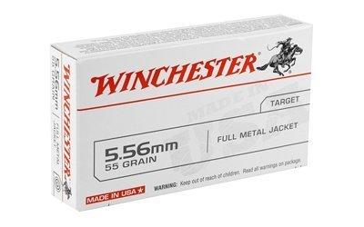 Winchester USA 5.56 FMJ 55 Grain, 20 Rounds