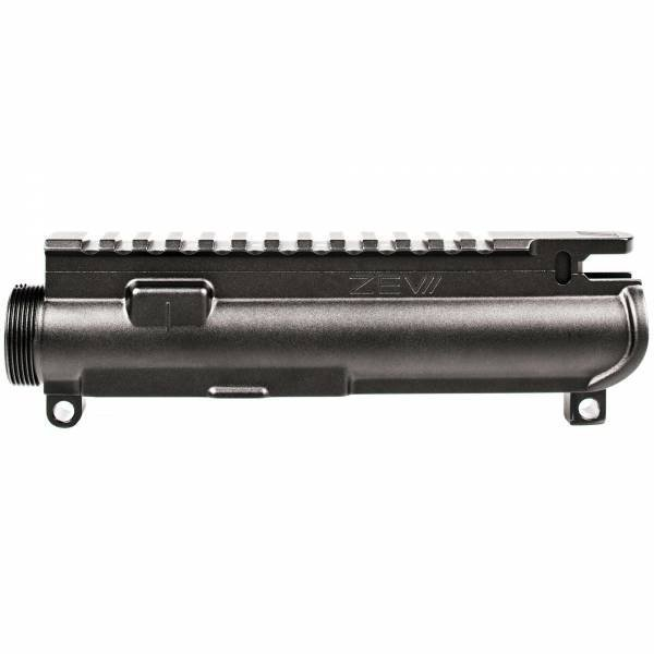 ZEV Technologies 5.56 NATO Forged Stripped Upper Receiver - Black Anodized