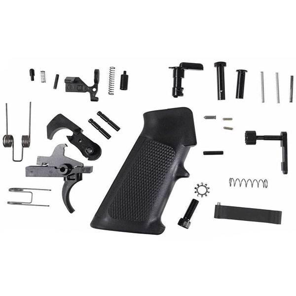 Spectre Arms AR-15 MIL-SPEC Lower Parts Kit - Black