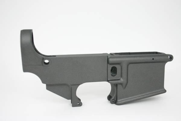 Spectre Arms AR-15 80% Lower Receiver- Tungsten Grey