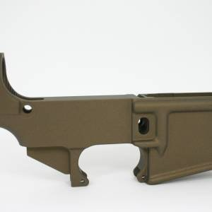 Spectre Arms AR-15 80% Lower Receiver- Burnt Bronze